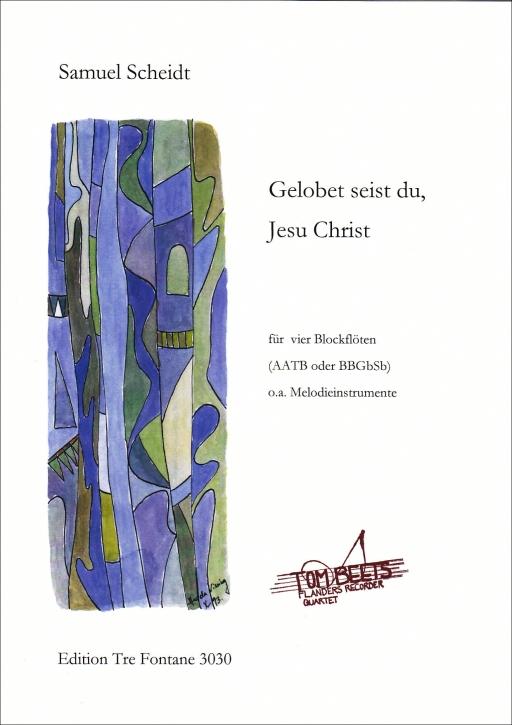Bach, Johann Sebastian - Christmas Oratorio  Recorder Quartetum - SATB
