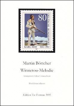 Böttcher, Martin - Winnetou Melody - recorder orchestra<br><br><b>NEW !</b>