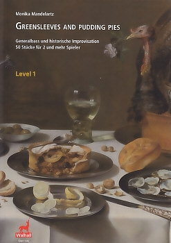 Mandelartz, Monika (Hrg.) - Greensleeves and pudding pies - Level 1 - SB / SSB/ SAAB