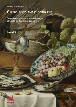 Mandelartz, Monika (Hrg.) - Greensleeves and pudding pies - Level 3 - SB / SSB/ SAAB