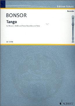 Bonsor, Brian - Tango - SAT and Piano