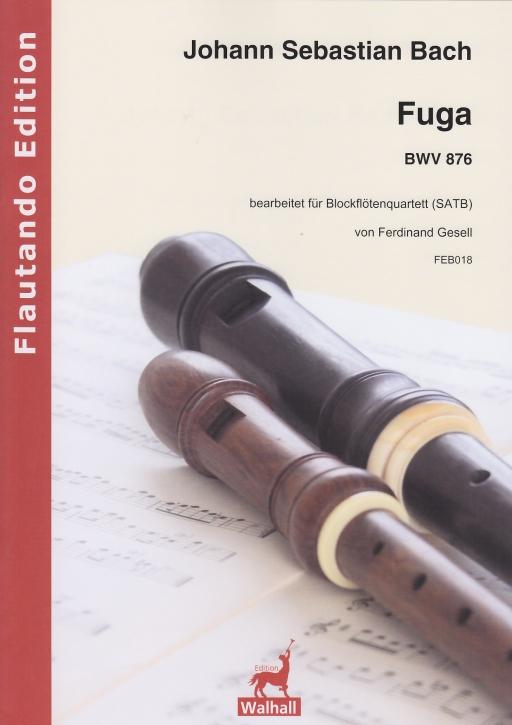 Bach, Johann Sebastian - Fuga Es-dur -  BWV 876 - SATB