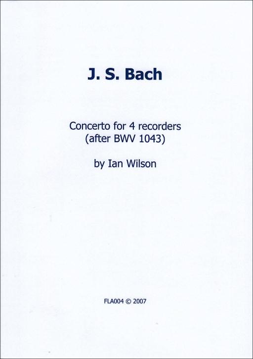 Bach, Johann Sebastian - Concerto ( BWV 1043) - SATB
