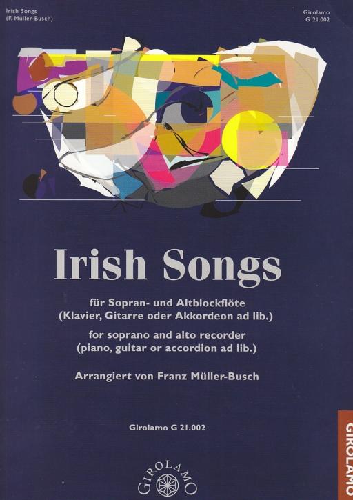 Irish Songs - (Arr. Franz Müller-Busch) Sopran- und Altblockflöte