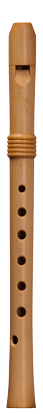 soprano recorder Stephan Blezinger Ganassi, 442 Hz, maple
