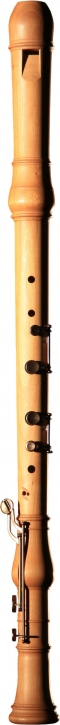 bass recorder Huber 905 Master, cherrywood