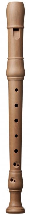 Sopranblockflöte Küng 1301, Birnbaum, barocke Griffweise