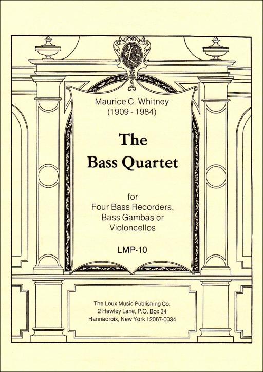 Whitney, Maurice - The Bass Quartett - BBBB