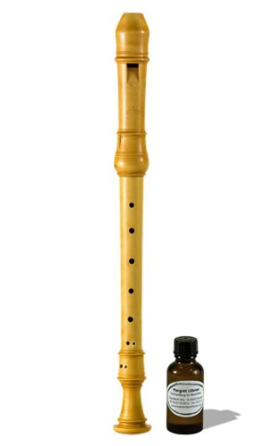 treble recorder Margret Löbner 442 Hz. europ. boxwood