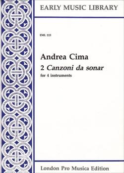 Cima, Andrea - 2 Canzoni da sonar - SATB
