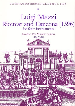 Mazzi, Luigi - Ricercar and Canzona - SATB