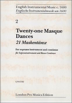 21 Masque Dances - Soprano recorder and Bc