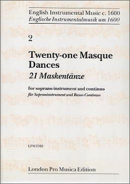 21 Masque Dances - Soprano recorder and Bc