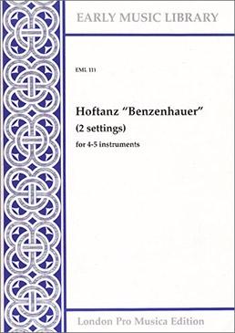 Anonymous - Hoftanz 'Benzenhauer' - SATTB