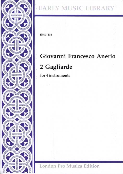 Anerio, Giovanni Francesco - 2 Gagliarde - SATB