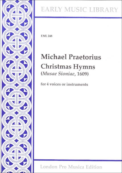Praetorius, Michael - Christmas Hymns - Recorder Quartet SATB