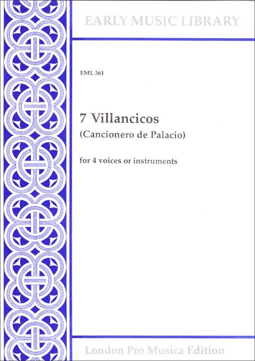 Encina, Juan del / Ponce, Juan - 7 Villancicos - SATB