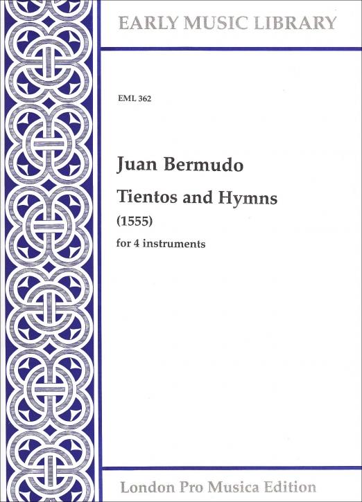 Bermudo, Juan - Tientos and Hymns - SATB