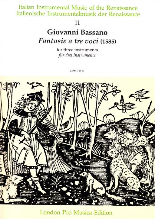 Bassano, Giovanni - Fantasie a tre voci