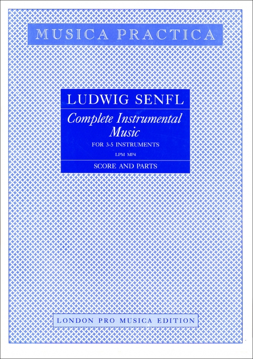 Senfl, Ludwig - Complete Instrumental Music - STB / STTB / SATTB