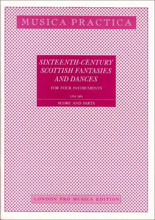 Scottish Fantasies and Dances - aus dem 16. Jahrhundert  TTTB / ATTB / SATB