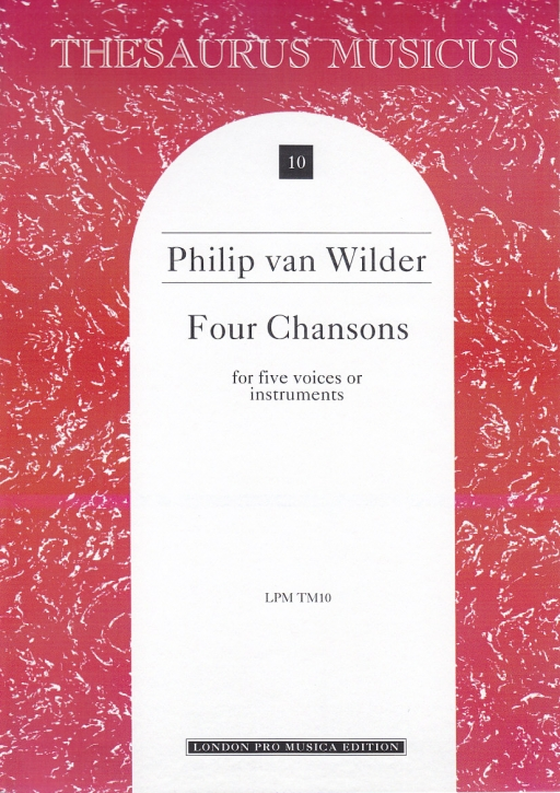 Wilder, Philipp van - 4 Chansons - SATTB