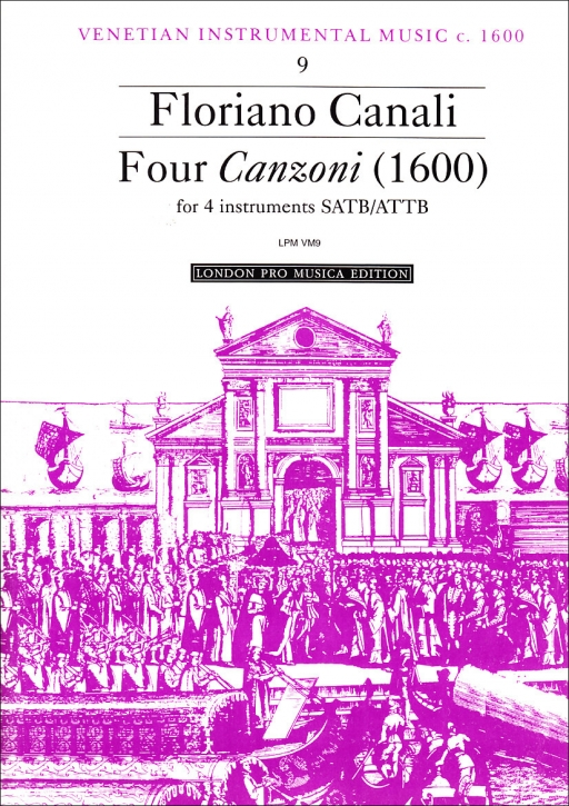 Canali, Floriano - Four Canzoni - SATB oder ATTB