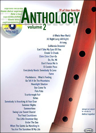Cappellari, Andrea (Hrg.) - Anthology Vol. 2 - soprano recorder + CD
