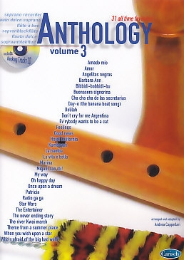 Cappellari, Andrea (Hrg.) - Anthology Vol. 3 - soprano recorder + CD