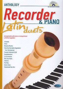 Cappellari, Andrea (Hrg.) - Latin Duets - soprano recorder + CD