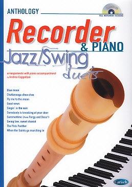 Cappellari, Andrea (Hrg.) - Jazz/Swing Duets - Sopranblockflöte  + CD