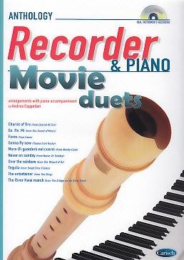 Cappellari, Andrea (Hrg.) - Movie Duets - soprano recorder + CD