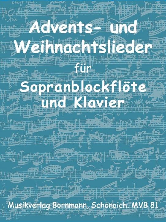Advents- und Weihnachtslieder - Soprano & Alto Recorder