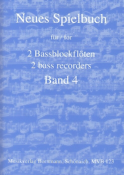 Bornmann, Johannes (Hrg.) - Neues Spielbuch - Band 4 - 2 Bassblockflöten