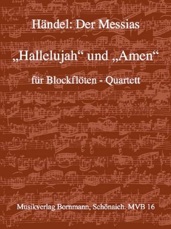 Händel, Georg Friedrich - Hallelujah / Amen - SATB
