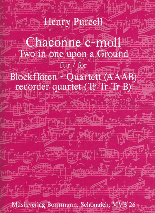 Purcell, Henry - Chaccony c minor  -  AAAB