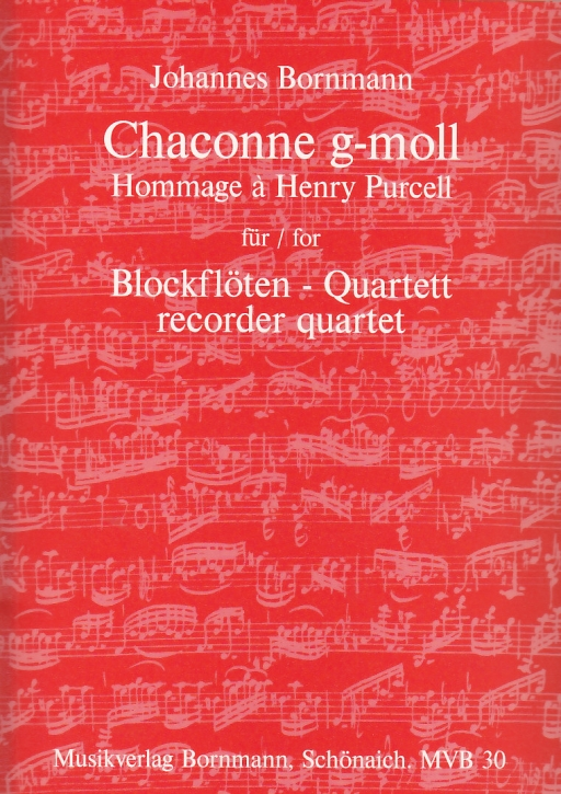 Bornmann, Johannes - Chaconne g-moll  Hommage à Henry Purcell - SATB