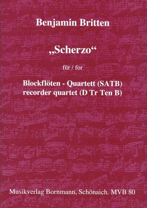 Britten, Benjamin - Scherzo  - SATB
