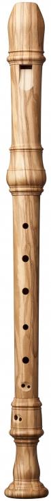 Treble recorder Marsyas 4409 olivewood