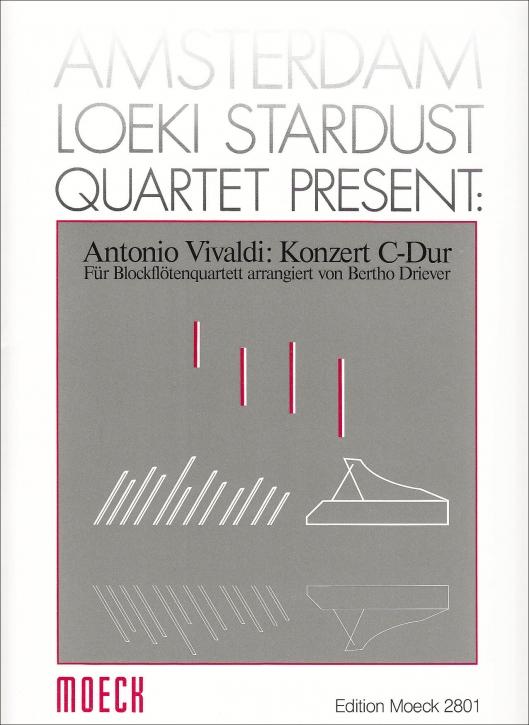 Vivaldi, Antonio - Concerto C-dur -  AATB