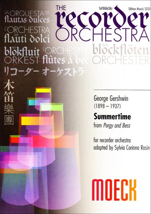 Gershwin, George - Summertime - SATBGbSb