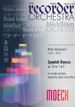 Moszkowski, Moritz - Spanish Dances op. 12 - SAATTBBGbSb