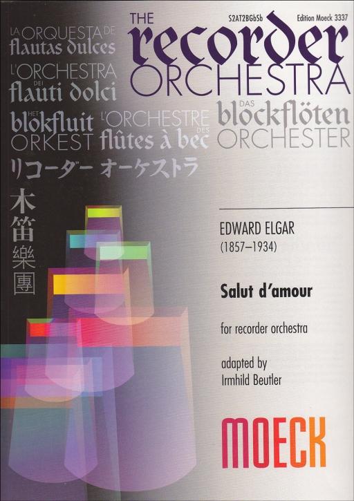 Elgar, Edward - Salut d'amour - SAATBBGbSb