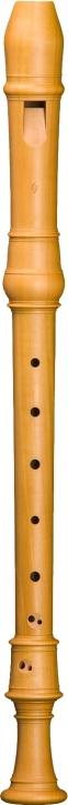 Altblockflöte Mollenhauer DL-5206 Denner-Line, 415 Hz, Birnbaum