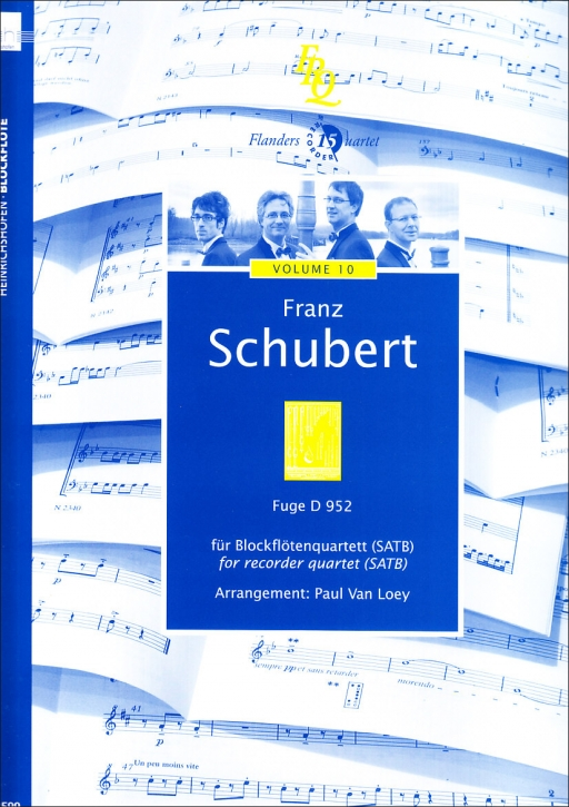 Schubert, Franz - Fuge D-moll (D nr. 952) - SATB