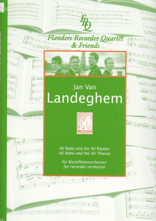 Landeghem, Jan van - Ali Baba und die 40 Räuber (Partitur) - SAATB+SATB