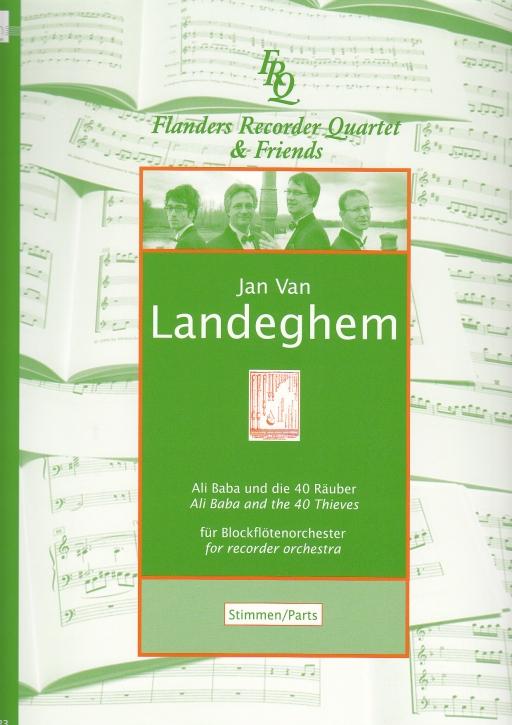 Landeghem, Jan van - Ali Baba und die 40 Räuber (Stimmen) - SAATB+SATB