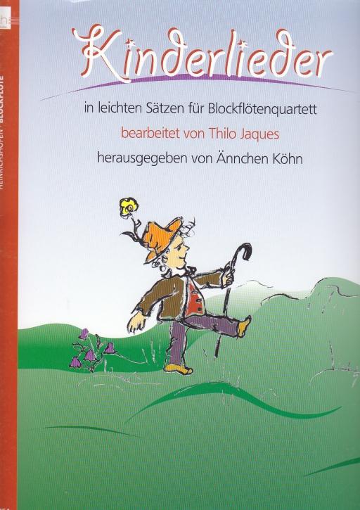 Kinderlieder (Hrg. Ännchen Köhn) - SATB