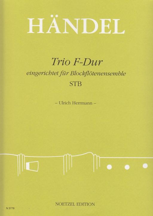Händel, Georg Friedrich - Trio F-dur - STB