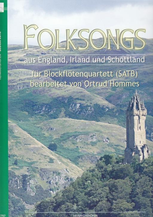 Folksongs aus England, Irland  und Schottland - SATB